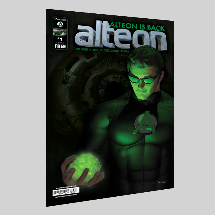 Radware Alteon is Back Comic Book