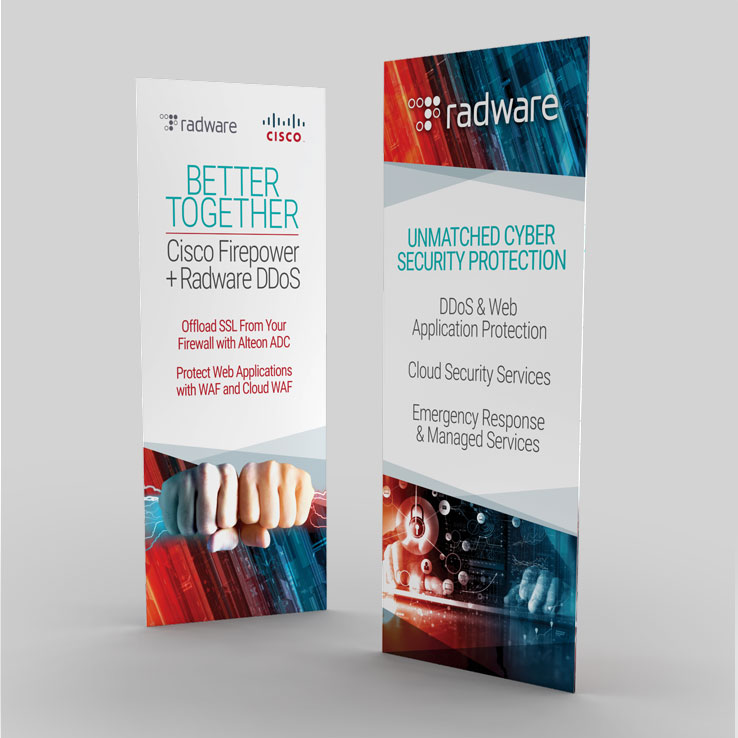Radware Roll-Up Banners